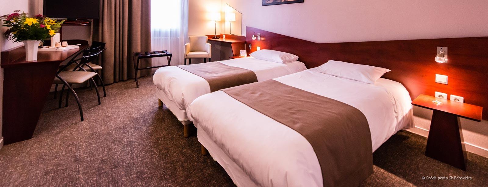 chambre supérieure 2 lits simples